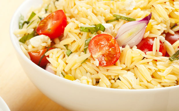 Bowl of Orzo Salad
