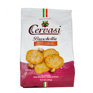 Bag of Cervasi Garlic Bruschetta
