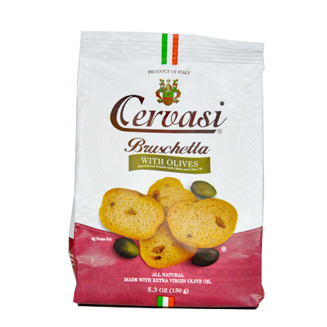 Bag of Cervasi Bruschetta with Olives