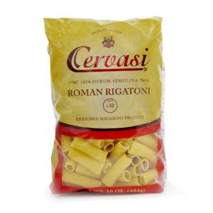 Bag of Cervasi Roman Rigatoni Pasta N. 32