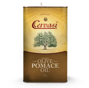 Tin of Cervasi Pomace Olive Oil