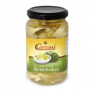 Jar of Cervasi Marinated Artichokes