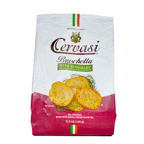 Bag of Cervasi Bruschetta with Rosemary