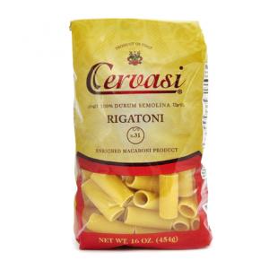 Bag of Cervasi Rigatoni Pasta N. 31