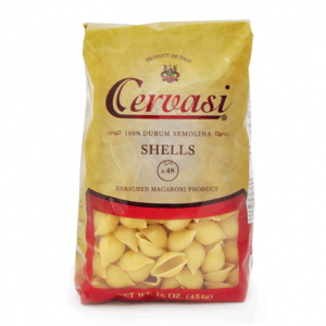 Bag of Cervasi Shells Pasta