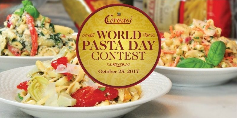 Cervasi's World Pasta Day Contest
