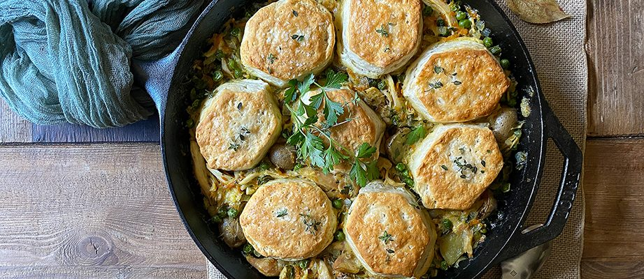 One-Pot Chicken Pot Pie